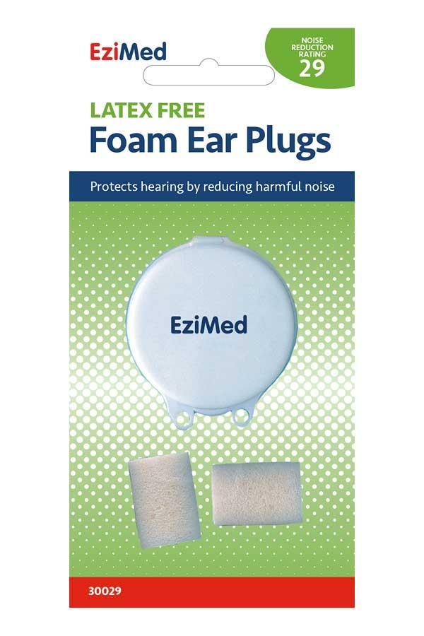 Foam Ear Plug 1 Pr w/case