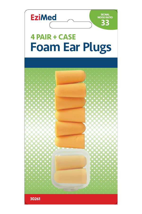 Sound Tamer Foam Ear Plugs 4 PR
