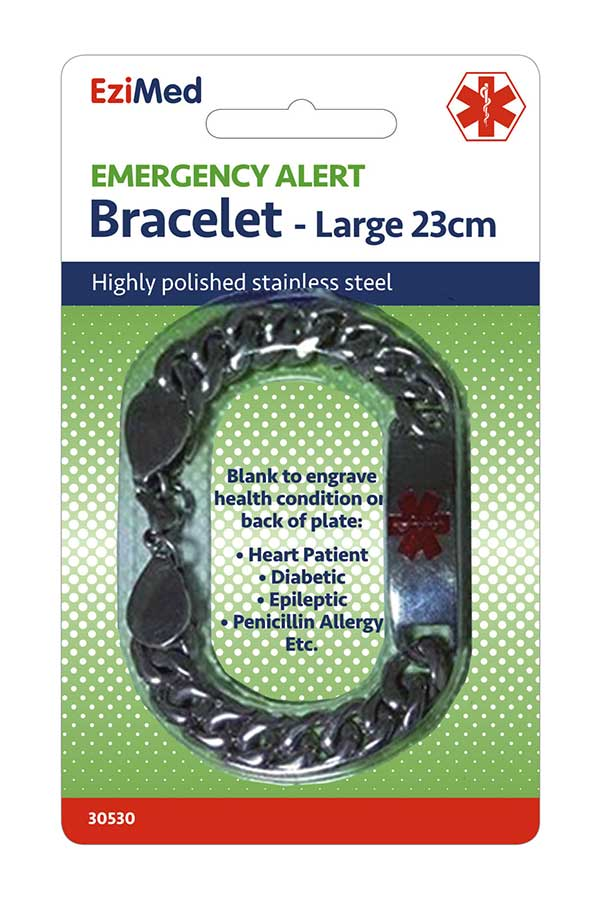 Emergency Alert Bracelet - Large
