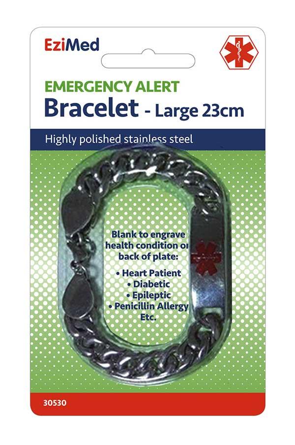 Emergency Alert Bracelet - Large