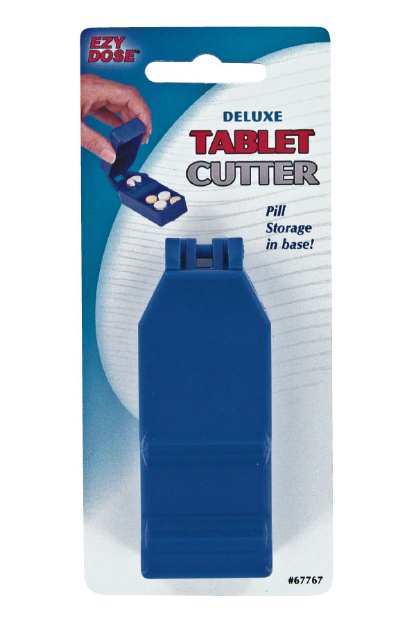 Tablet Cutter w/Pill Container