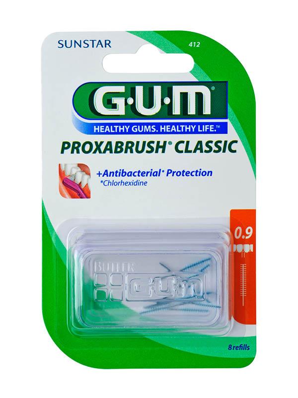 GUM®Proxabrush® Refill U/Fine Cylindrical
