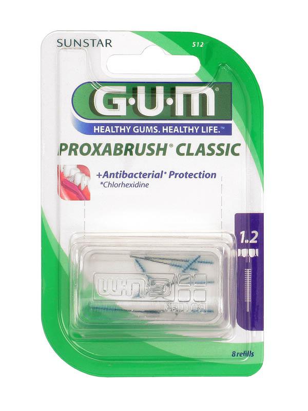 GUM®Proxabrush® Refill Extra Fine Cylindrical