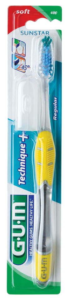 GUM® Technique®Toothbrush Soft, Compact