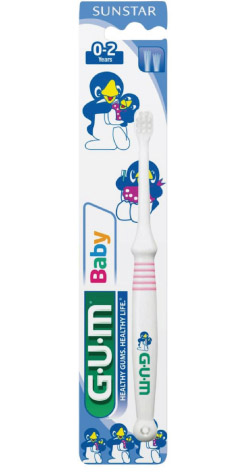 GUM® Baby Toothbrush 0-2 years Ultra Soft