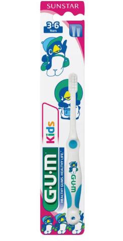 GUM®Kids Toothbrush 3-6 years Ultra Soft