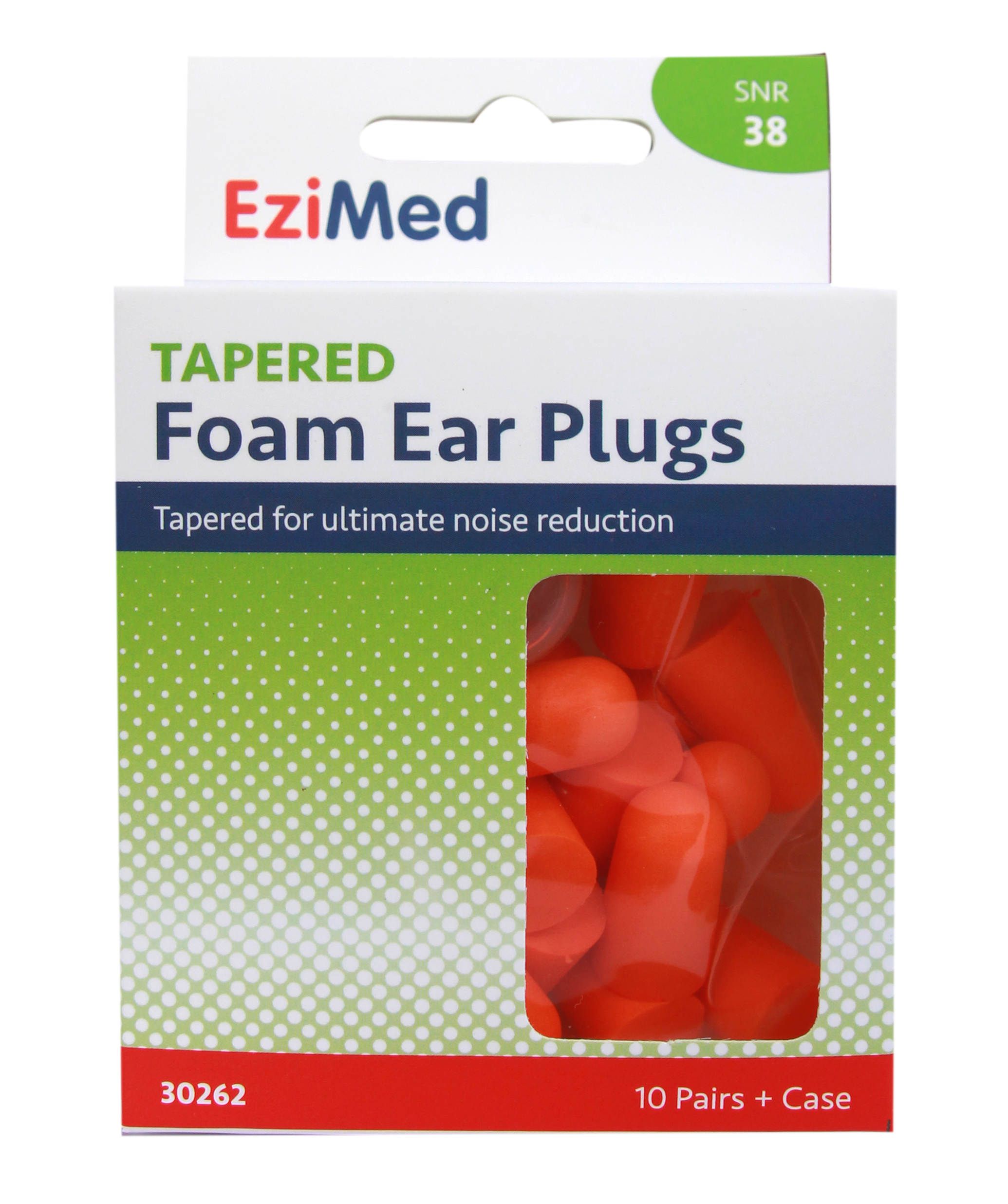Ezi Med Tapered Foam Earplugs